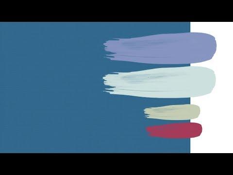 Красивые сочетания цветов. Синие цвета