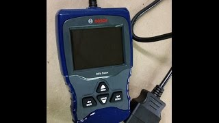 BOSCH OBD II Scan tool - CEL Scan and Erase Codes