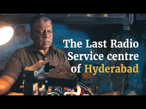 Running for 70 years, Hyderabad's Mahboob Radio Service still thrives in digital age