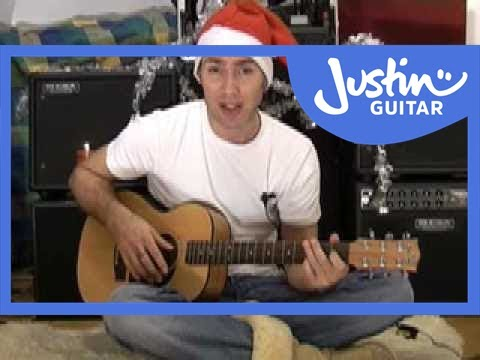 Auld Lang Syne for Solo Guitar #4of4 (Christmas Songs Guitar Lesson ...
