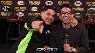 "ANGEL GARCIA ""DANNY TO 154 NEXT YEAR! ALOT OF MONEY AT THERE! YOU GOT THE CHARLOS!"""