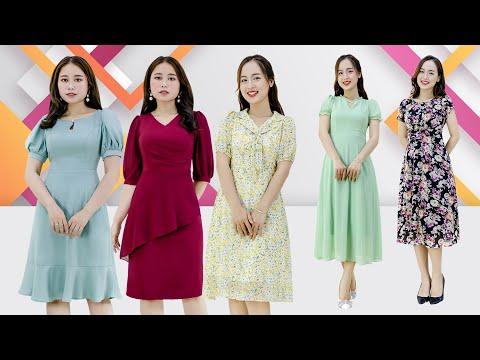 TOP 10 Mẫu Đầm Dự Tiệc Đẹp Nhất Năm 2021 - Thời Trang Trung Niên