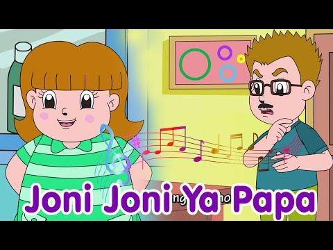 Joni Joni Ya Papa   Diva Bernyanyi   Lagu Anak Channel