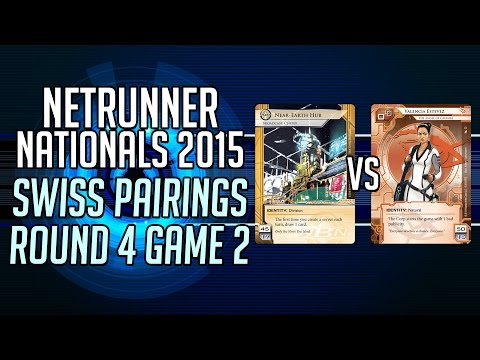 Netrunner Irish Nationals - Swiss Round 4 Game 2