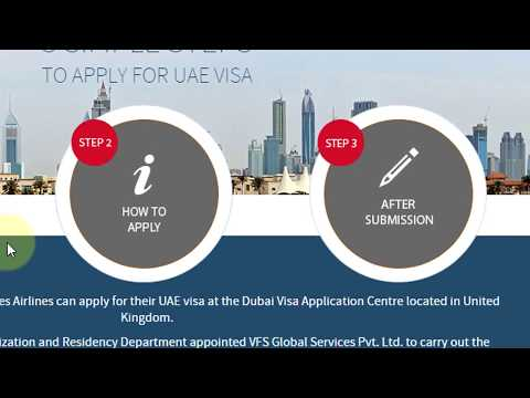 How To Apply UAE Visa Online Process Visit/Tourist/Business