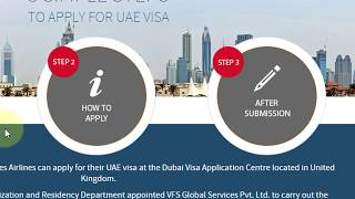 How To Apply UAE Visa Online Process Visit/Tourist/Business - full Information