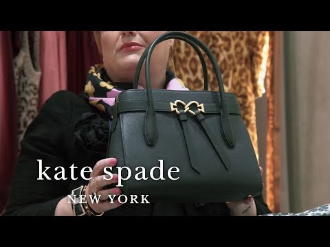 surprise unboxing: toujours satchel - a new everyday bag! | talking shop | kate spade new york