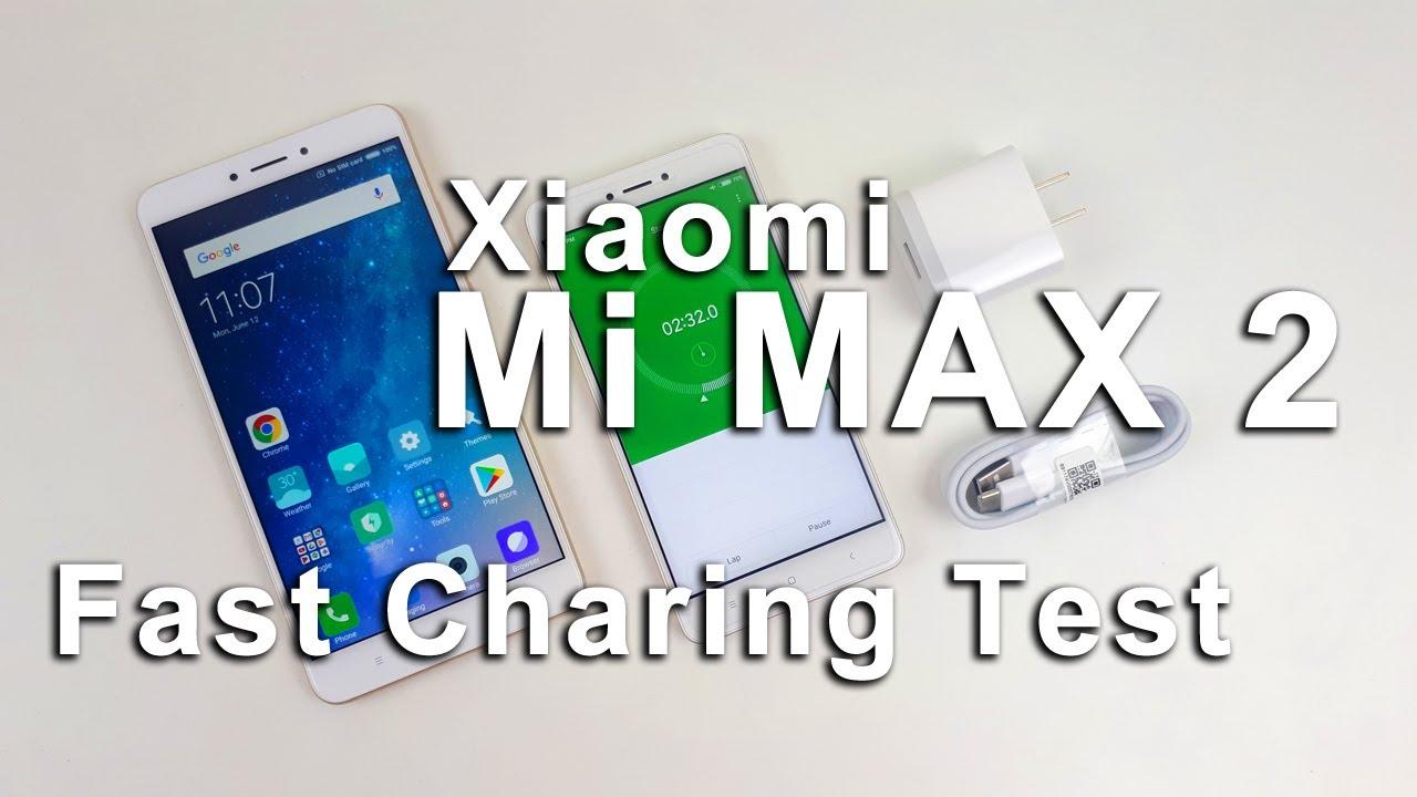 Mi Max 2 Fast Charging Test