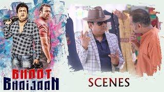 Bhoot Bhaijan Movie Scenes - Sana Gets Angry on Gullu Dada - Aziz Distracts Gulla Dada