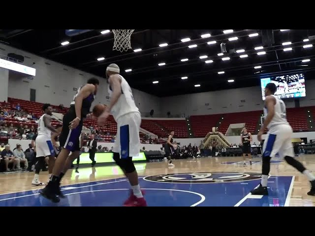 David Stockton (22 points) Highlights vs. Lakeland Magic
