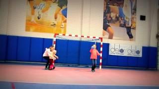 Семейная гандбольная тренировка :)