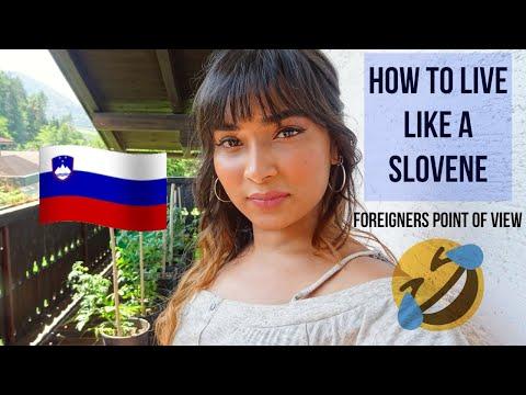 HOW TO LIVE LIKE A SLOVENE