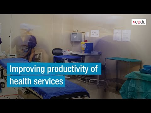 Improving productivity of health services - Panel discussion