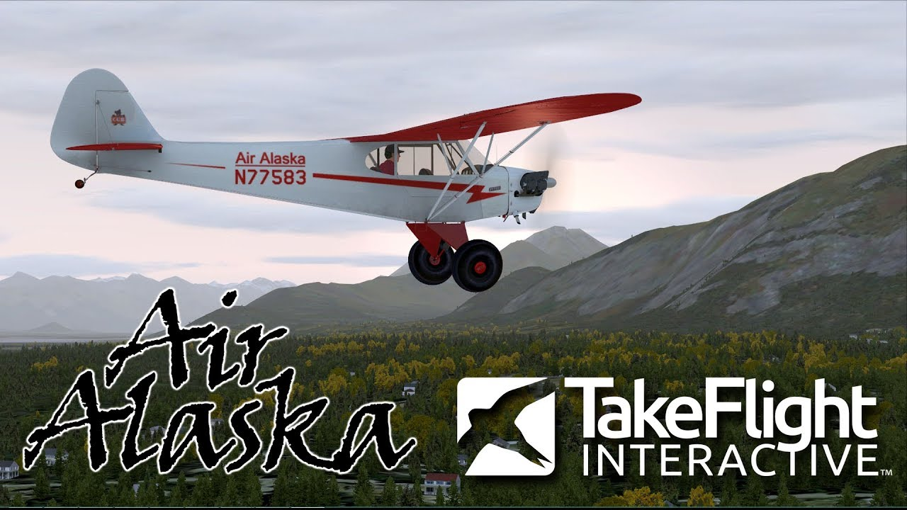 simMarket: TAKEFLIGHT INTERACTIVE - AIR ALASKA FSX P3D