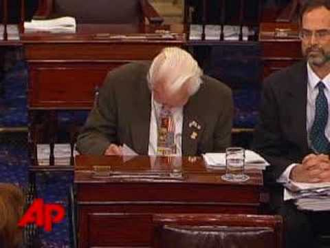 Senator Byrd Moved to Tears Over Kennedy