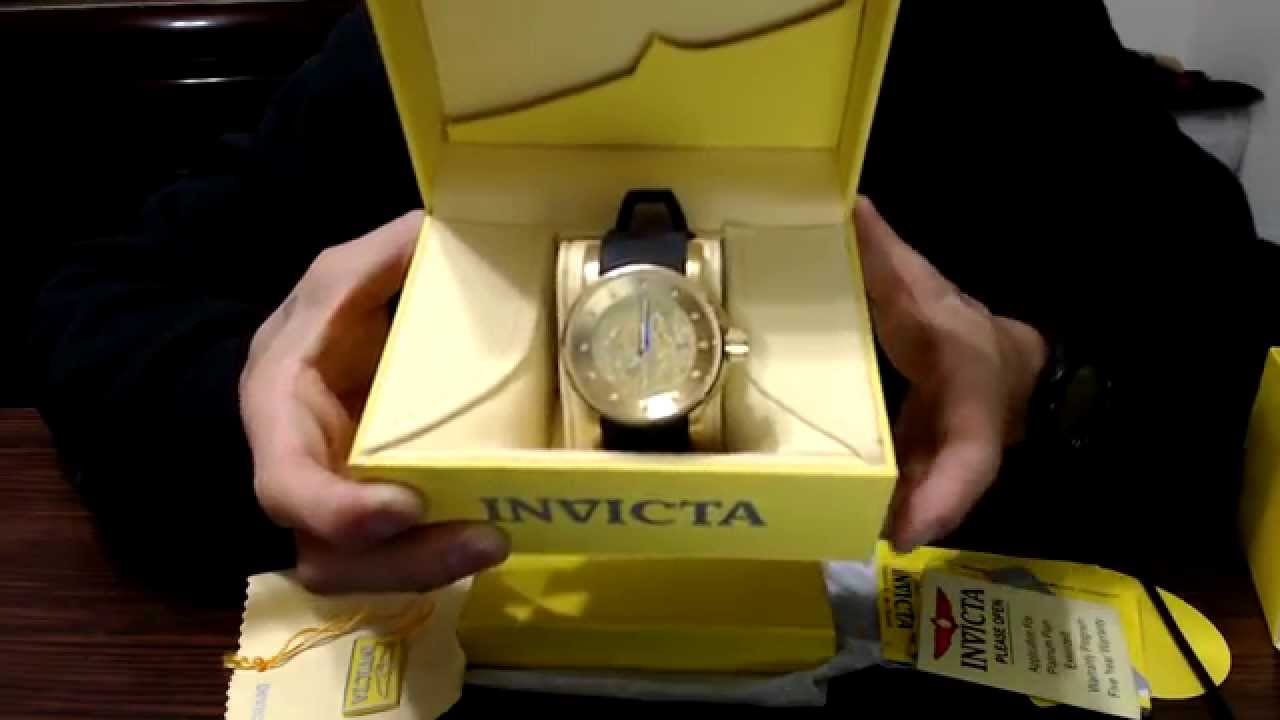 1e3711ab4fb UNBOXING  Relógio Invicta Dragon Yakuza - 15863 !!! - YouTube