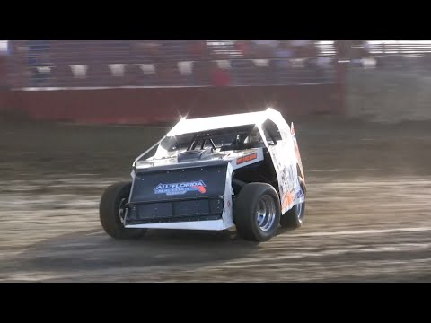 Open Wheel Modifieds Full Program - East Bay Raceway Park 4-11-15