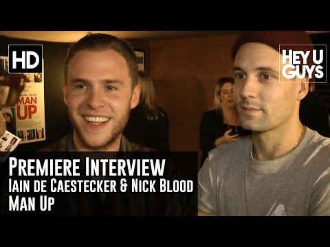 Iain de Caestecker and Nick Blood   Agents of Shield  Man Up Premiere