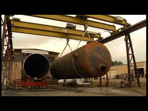 Surface Equipment Builds and Moves a 480,000-pound Pressurized Vessel