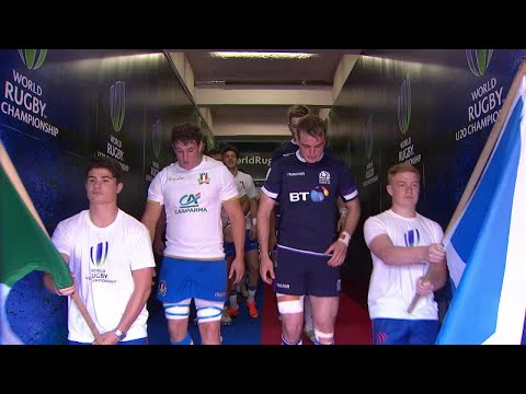 Italy 27-26 Scotland - World Rugby U20 Highlights