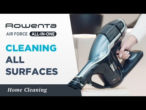 Cleaning efficiently across all surfaces | AIR FORCE™ ALL-IN-ONE | Rowenta