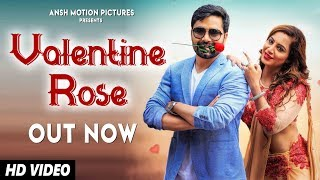 Valentine Rose   New Love Song 2019   Vicky Kajla, Arshi Khan   Latest Punjabi Songs 2019
