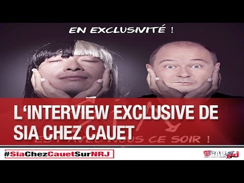 L'interview Exclusive De Sia Chez Cauet  - C'Cauet Sur NRJ