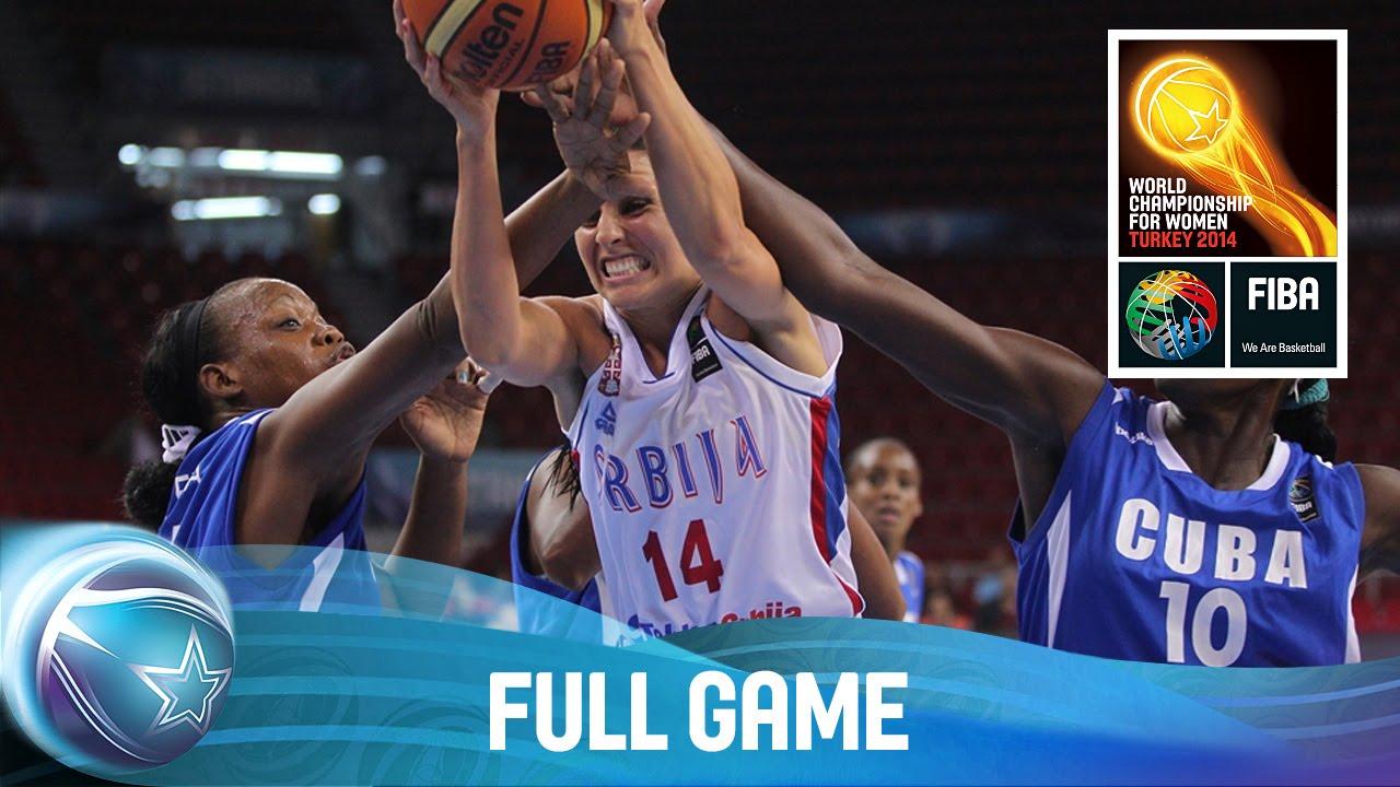 Serbia v Cuba - Full Game - 1/4-Final Qualifiers