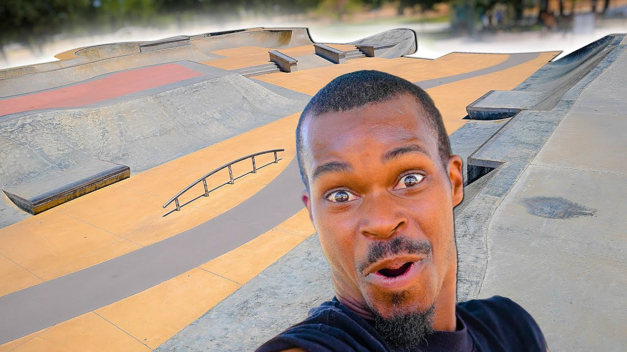 BEST SKATEPARK IN THE MIDDLE OF NOWHERE?!