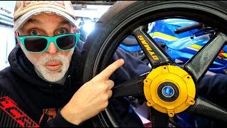 Carbon Fibre Dymag Wheels | The GSXR Project Is Getting Serious!