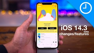 iOS 14.3 beta top changes and features!