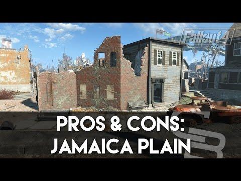 Fallout 4 - Pros & Cons: Jamaica Plain (Fallout 4 Settlement Review)