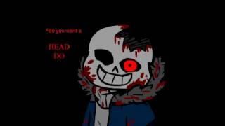 horror!sans [horrortale au] animación - ¡advertencia! gore y los ruidos fuertes