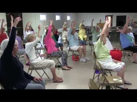 Bay Co. Division on Aging & Recreation Dept. - Aging Well - Chair Yoga