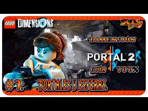 LEGO DIMENSIONS: Dimensión Portal 2. #1: Portales y esferas. [Guía 100%]
