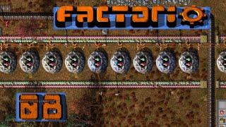 FACTORIO 🚂 Nicht kleckern, Klotzen! ► #8 S04 Fabrik Aufbau Simulation deutsch german