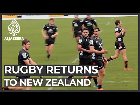 NZ Rugby Players Return To Training Under Strict Health Measures