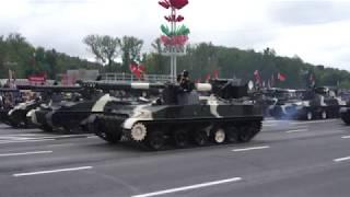 中国三军仪仗队参加白俄罗斯阅兵完整版