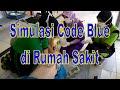 Simulasi code blue di Rumah Sakit