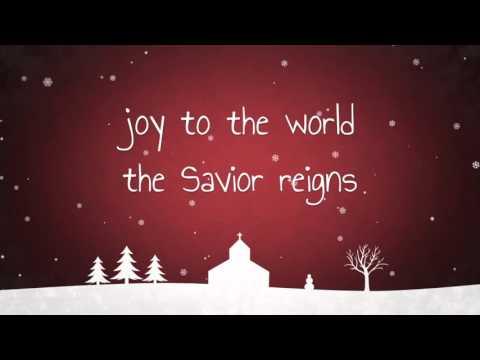 Joy To The World - Kid's Version W/ Lyrics