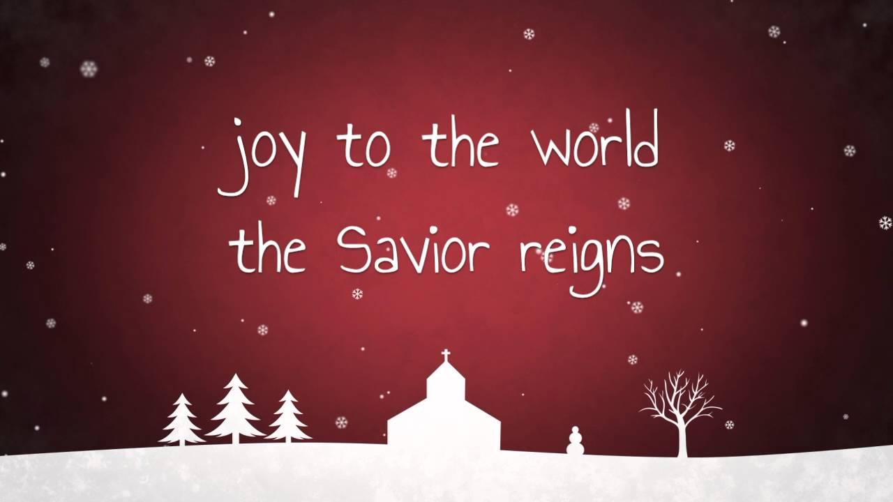 Joy to the World - Kid\'s Version w/ Lyrics - YouTube