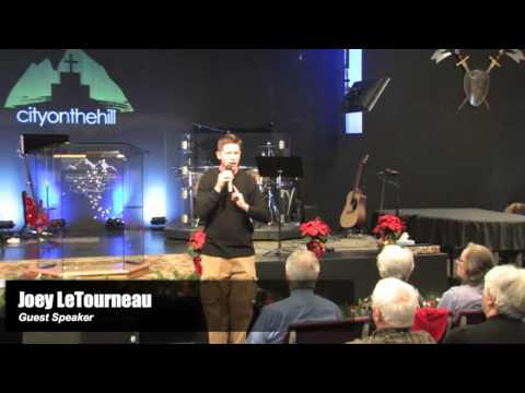 Joey LeTourneau at City on the Hill Church