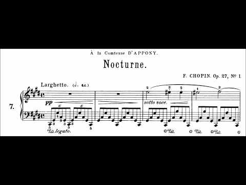 Chopin: Nocturne Op.27 No.1 in C# Minor (Moravec)