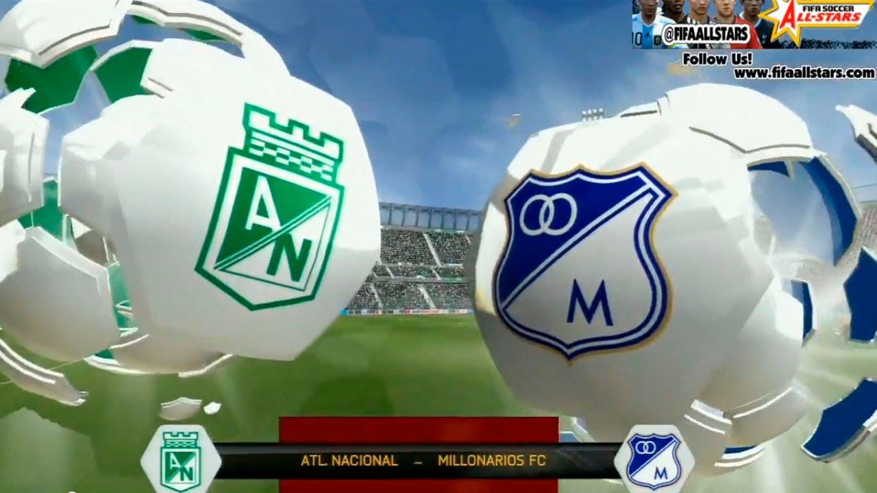 Nacional Vs Millonarios 2019 Image: FIFA14 Gameplay Atl.Nacional Vs Millonarios