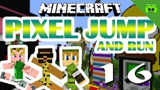 MINECRAFT Adventure Map # 16 - Pixel Jump & Run «» Let