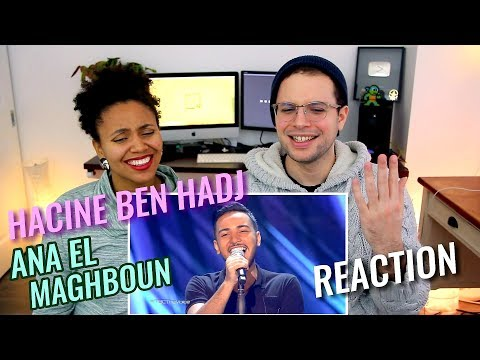 Hacine Ben Hadj/حسين بن حاج - Ana El Maghboun | Cheb Khaled | MBC The Voice | REACTION