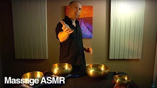 Guided Meditation for Relaxation & ASMR + Tibetan Singing Bowl Music