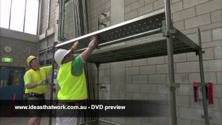 Scaffolding Basics DVD Preview - Ideas That Work
