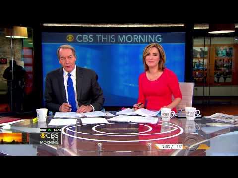 Margaret Brennan - tight red dress - CBS This Morning