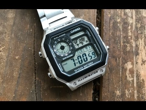 The Casio AE1200-WH 'Casio Royale' Wristwatch: The Full Nick Shabazz Review thumbnail